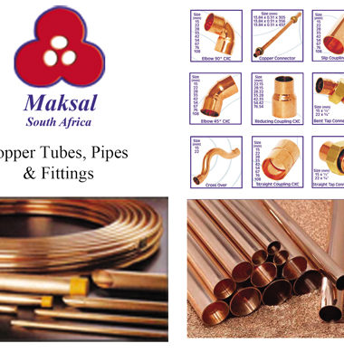 Maksal Copper Pipe Tubes Copper Coils